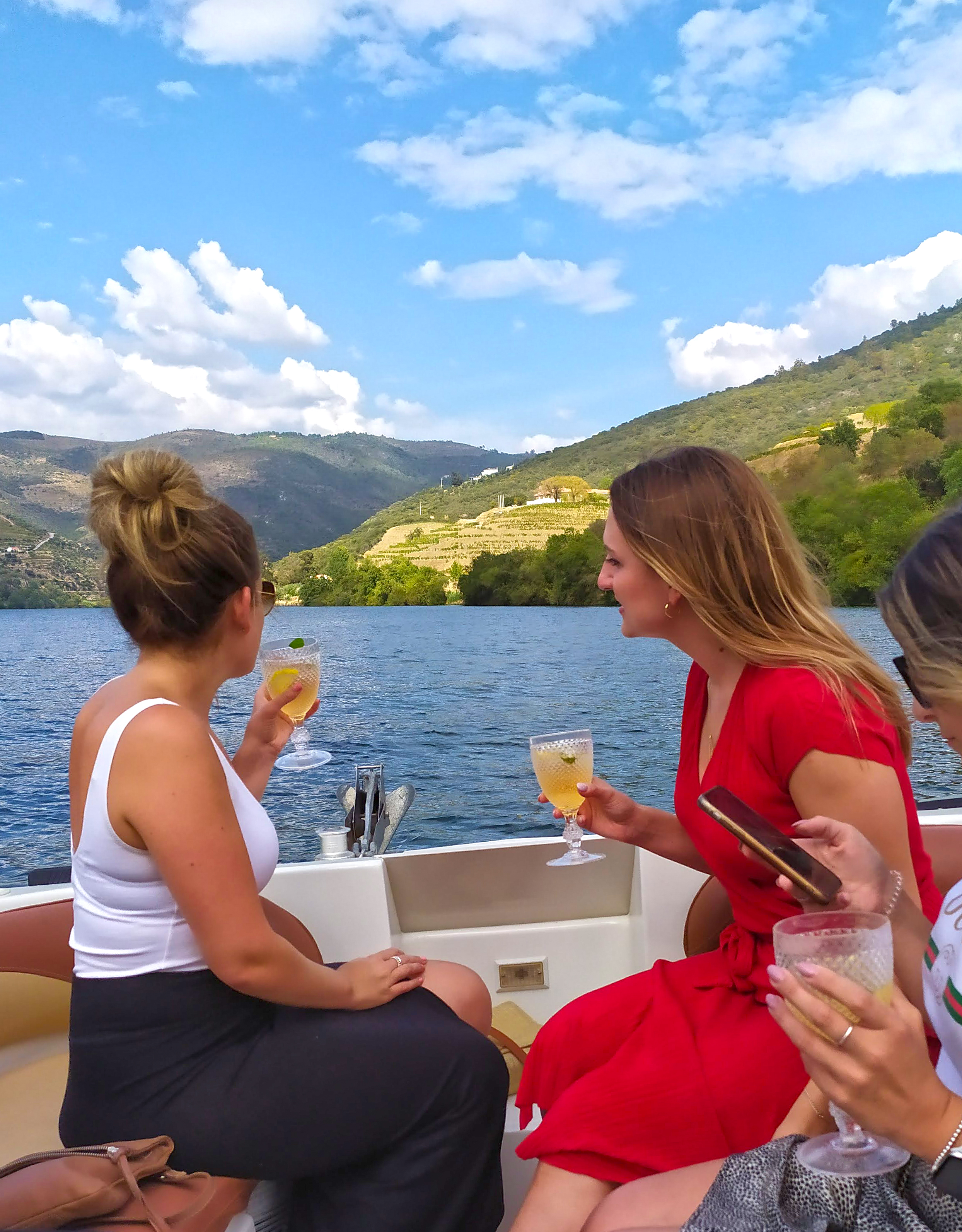 Sailing in Douro
